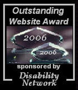 Disability Network Website Award for HURT911®